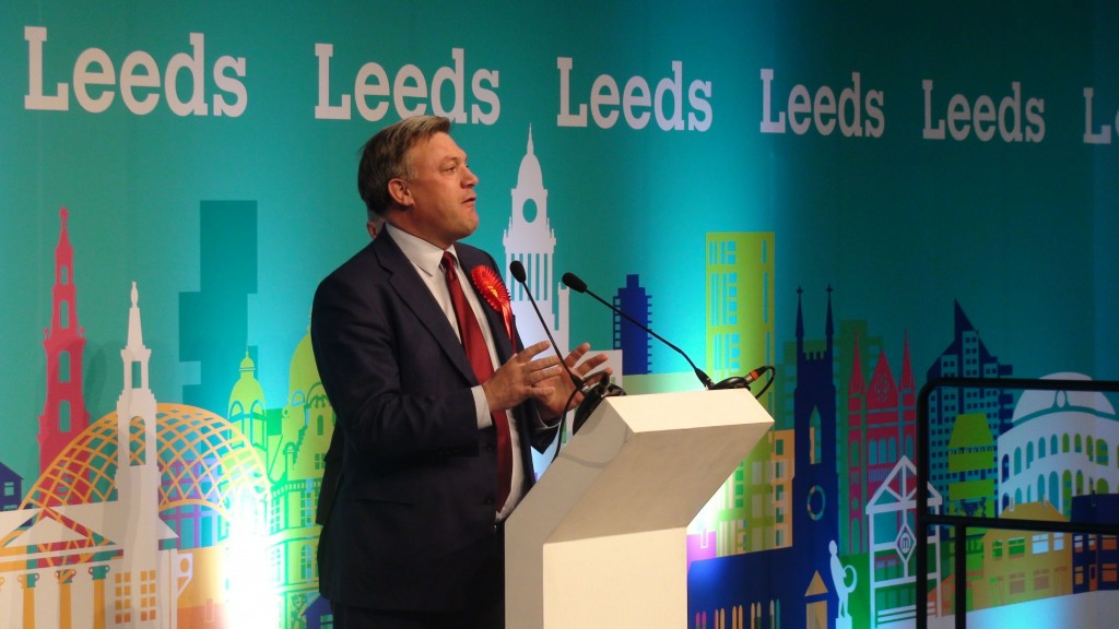 RETRANSMITTED INSERTING VOTES Shadow Chancellor Ed Balls makes a speech after losing his Morley and Outwood seat to Conservative Andrea Jenkyns by 18,776 votes to 18,354 - a majority of 422 - after a recount. ... General Election 2015 declaration - May 7th ... 08-05-2015 ... Leeds ... UK ... Photo credit should read: Dave Higgens/Unique Reference No. 22946238 ... Picture date: Friday May 8, 2015. See PA story ELECTION Main. Photo credit should read: Dave Higgens/PA Wire