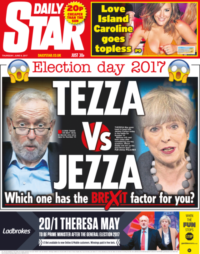 It's the Sun wot lost it - Election Analysis